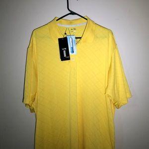 NWT Adidas Golf ClimaCool Short Sleeve Polo Tee